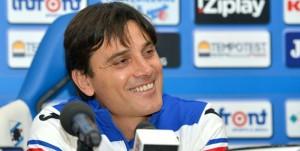Bogliasco (Genova), 16/11/2015 Sampdoria/Montella - Presentazione Vincenzo Montella (allenatore Sampdoria)