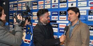 15-11-15 SAMPDORIA-VINCENZO MONTELLA A BOGLIASCO PRIMA INTERVISTA CON SAMP TV