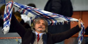Genova, 06/12/2015 Serie A/Sampdoria-Sassuolo Massimo Ferrero (presidente Sampdoria)