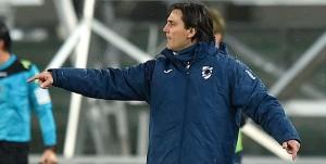 Verona, 05/03/2016 Serie A/Hellas Verona-Sampdoria Vincenzo Montella (allenatore Sampdoria)