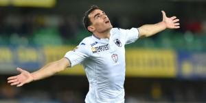 Verona, 05/03/2016 Serie A/Hellas Verona-Sampdoria Gol Sampdoria (0-3): esultanza Lazaros Christodoulopoulos