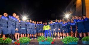 Pontedilegno (Brescia), 29/07/2016 Sampdoria/Ritiro 2016-17 - Presentazione Pontedilegno Sampdoria - Foto di gruppo