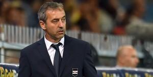 Genova, 16/09/2016 Serie A/Sampdoria-Milan Marco Giampaolo (allenatore Sampdoria)