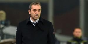 Genova, 22/12/2016 Serie A/Sampdoria-Udinese Marco Giampaolo (allenatore Sampdoria)-Luigi Delneri (allenatore Udinese)