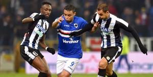Genova, 22/12/2016 Serie A/Sampdoria-Udinese Seko Mohamed Fofana-Luis Fernando Muriel-Larangeira Danilo