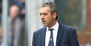 Genova, 18/03/2017 Serie A/Sampdoria-Juventus Marco Giampaolo (allenatore Sampdoria)