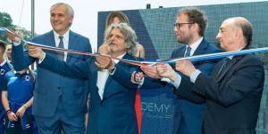 Bogliasco (Genova), 25/05/2017 Sampdoria/Casa Samp - Inaugurazione