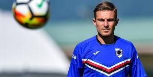 Temù (Brescia), 11/07/2017 Sampdoria/Ritiro 2017-18 - Allenamento Temù Leonardo Capezzi