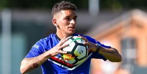 Temù (Brescia), 11/07/2017 Sampdoria/Ritiro 2017-18 - Allenamento Temù Lucas Sebastian Torreira