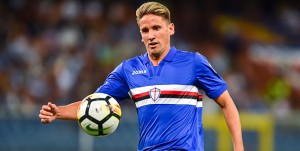 Genova, 20/08/2017 Serie A/Sampdoria-Benevento Gaston Exequiel Pereyra Ramirez