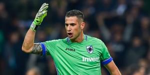 Milano, 24/10/2017 Serie A/Inter-Sampdoria Gol Inter (2-0): delusione Christian Puggioni
