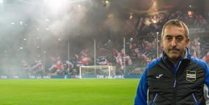 Genova, 25/10/2017 Serie A/Genoa-Sampdoria Marco Giampaolo (allenatore Sampdoria)