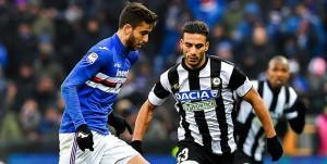 Genova, 25/02/2018 Serie A/Sampdoria-Udinese Ricardo Gabriel Alvarez-Ali Kadhim Al Tameemi Adnan
