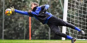 Bogliasco (Genova), 01/02/2018 Sampdoria/Allenamento Vid Belec