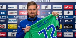 Bogliasco (Genova), 01/02/2018 Sampdoria/Belec - Ritratti Vid Belec