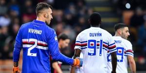 Milano, 18/02/2018 Serie A/Milan-Sampdoria Emiliano Viviano - Esultanza rigore parato